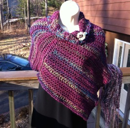 crochet poncho 2