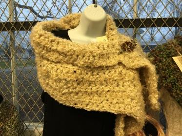 Cozy sunshine shawl