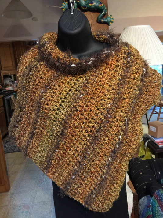 Bourbon Homespun with Carmen Fur
