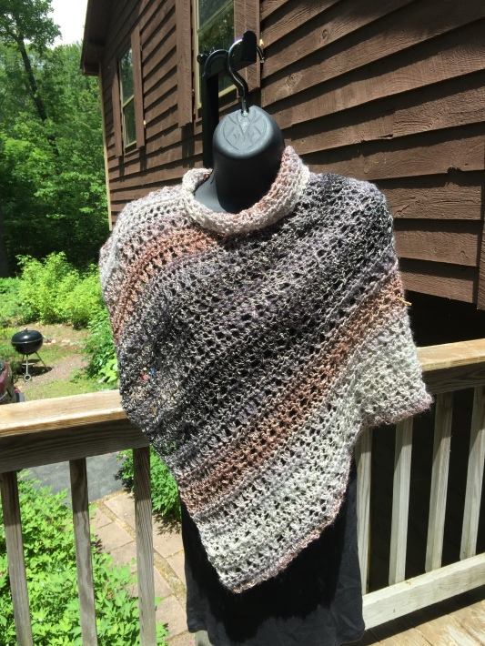 Shawl in a Ball Sideways